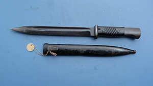 Image for German Mauser Bayonet ASW Marked, Horster Made.