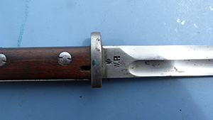 Image for Polish Perkun Mauser Bayonet With Frog, 1924.