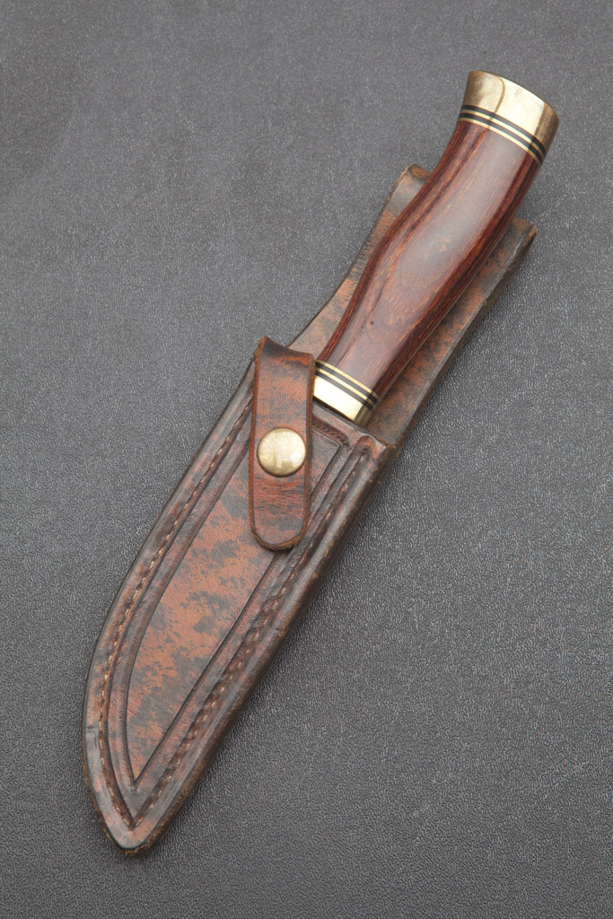 Image for 1980s Buster Warenski Hunting Knife.