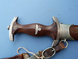 Image for SA Dress Dagger With Suspension, Arthur Evertz.