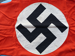 Image for PODIUM BANNER FROM NAZI GERMANY.