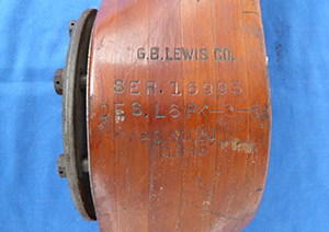 Image for Lewis Aircraft Propeller L6FK-3-52.