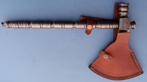 Image for Damascus Pipe Tomahawk.