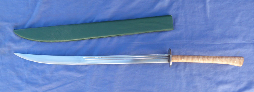 Image for Prototype Reinhardt Sword with Maple Hilt.