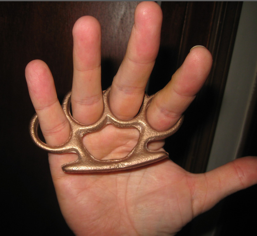 Image for Brass Knuckles.