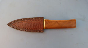 Image for Skean Dhu with Walnut Grip.