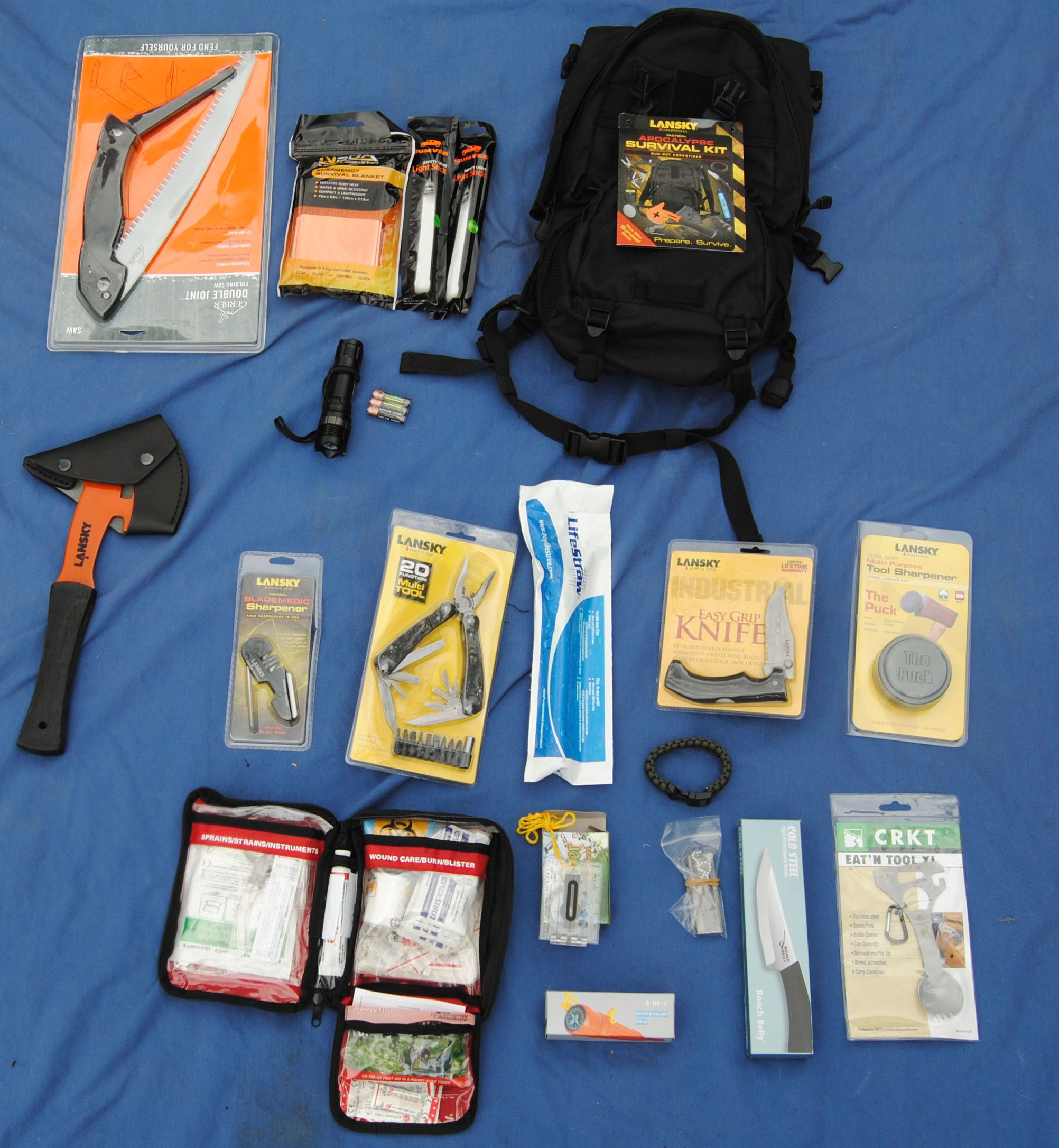 Need a Bug-Out Bag?<br>Don&#39;t know where to begin?